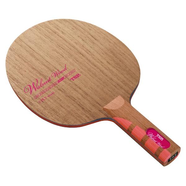 【ティーエスピ―】 卓球ラケット ウォルナット ウッド ST #026525 【スポーツ・アウトドア:卓球:ラケット】【TSP】