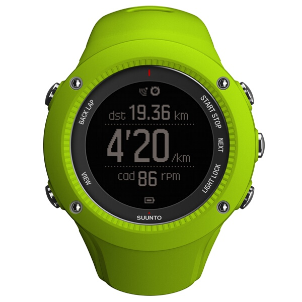 【スント】 AMBIT3 RUN LIME(アンビット3ラン ライム) 日本正規品 GPSスポーツウォッチ #SS021260000 【スポーツ・アウトドア:ジョギング・マラソン:ギア】【SUUNTO】