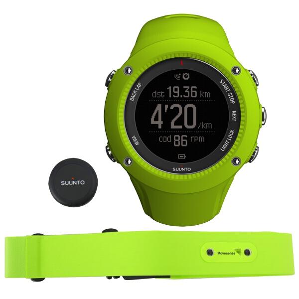 【スント】 AMBIT3 RUN HR LIME(アンビット3ラン HR ライム) 日本正規品 GPSスポーツウォッチ #SS021261000 【スポーツ・アウトドア:ジョギング・マラソン:ギア】【SUUNTO】