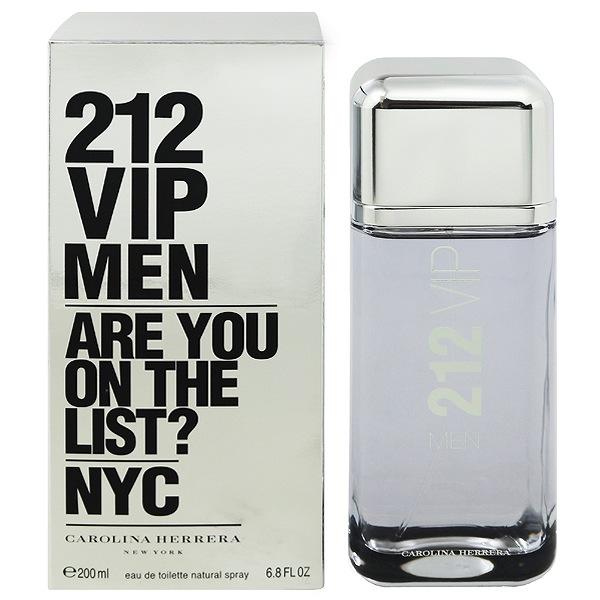 【キャロライナヘレラ】 212 VIP メン オーデトワレ・スプレータイプ 200ml 【香水・フレグランス:フルボトル:メンズ・男性用】【212 VIP】【CAROLINA HERRERA 212 VIP MEN EAU DE TOILETTE SPRAY】
