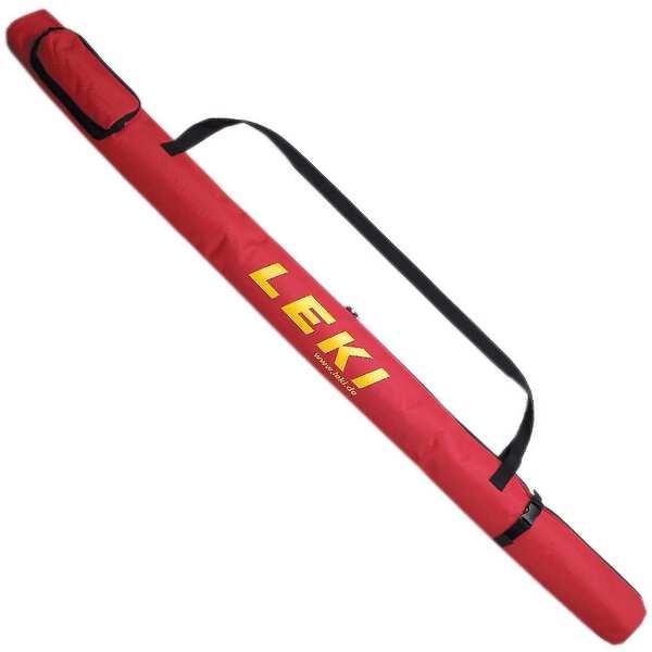 【レキ】 ポールバッグロング NW140 [カラー:レッド] #1300110 【スポーツ・アウトドア:登山・トレッキング:トレッキングポール】【LEKI】