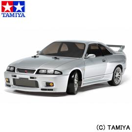 【タミヤ】 1/10 電動RCカ― No.604 NISSAN スカイライン GT-R (R33) (TT-02Dシャーシ) ドリフトスペック 【玩具:ラジコン:オフロードカー:組み立てキット】【1/10RC ツーリングカー】【TAMIYA 1/10 NISSAN SKYLINE GT-R(R33) (TT-02D CHASSIS) DRIFT SPEC】