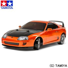 【タミヤ】 1/10 電動RCカ― No.613 トヨタ スープラ (TT-02Dシャーシ) ドリフトスペック 【玩具:ラジコン:オフロードカー:組み立てキット】【1/10RC ツーリングカー】【TAMIYA 1/10 Toyota SUPRA (TT-02D CHASSIS) DRIFT SPEC】