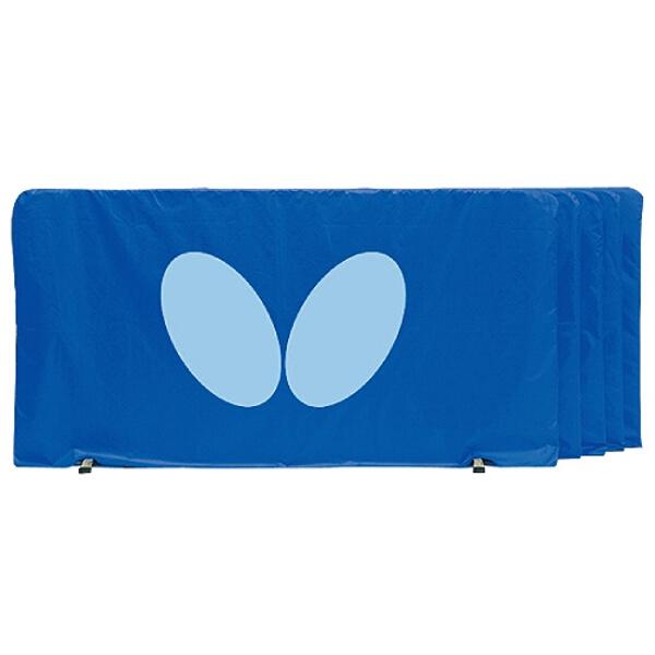 【バタフライ】 フェンス(1.4m) [カラー:ブルー] [サイズ:高さ75×幅140cm] #70360-177 5枚組 【スポーツ・アウトドア:卓球:防球フェンス】【BUTTERFLY】