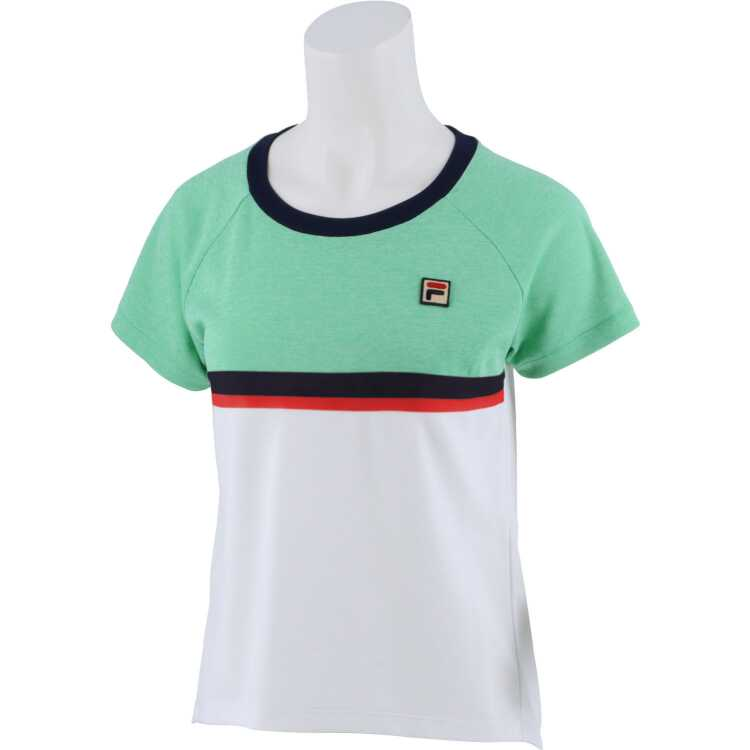≪送料無料≫フィラ レディース テニスシャツ VL2311 サイズ:M 公式ストア カラー:グリーン 激安通販ショッピング スポーツ フィラ #VL2311-25 #VL2311-25FILA FILA アウトドア:その他雑貨