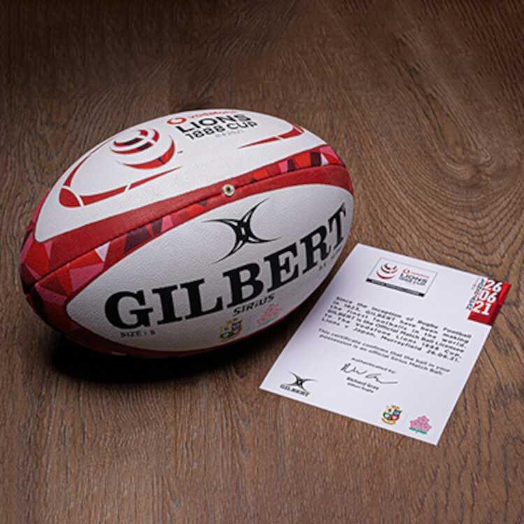 ≪送料無料≫ギルバート ライオンズ vs ジャパン シリウスボール ラグビーボール 5号球 豪華な #GB-9086GILBERT #GB-9086 GILBERT 半額 アウトドア:ラグビー:ボール スポーツ ギルバート 試合球
