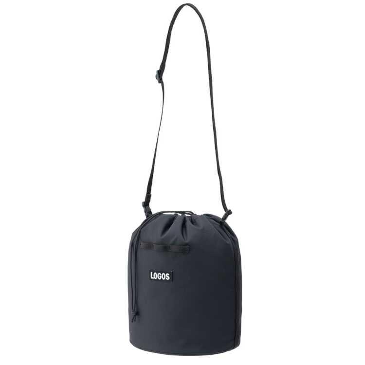 送料無料 ロゴス LOGOS スタンダード 巾着バッグ 激安特価品 ブラック サイズ:幅28×奥行19×高さ26cm 4L #36783719 割引クーポン有 9 30迄 バッグ アウトドア ロゴス: スポーツ 秀逸