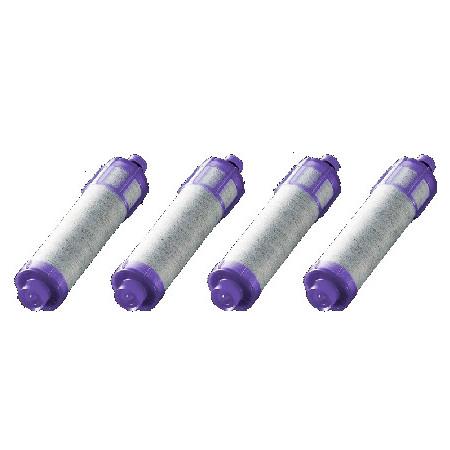 イナックス(INAX) オールインワン浄水栓用カートリッジ JF-22-F 4本セット 高塩素除去タイプ(1年分)