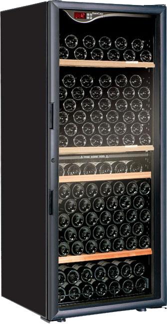 【開梱設置付き】 ユーロカーブ ワインセラー エッセンシャルシリーズ V166T-PTHF(ガラス扉) 【収納本数:170本】