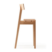 メーベルトーコー 国産 旭川家具 half chair オークNA ※開梱設置・代引きは別途見積 ※時間指定不可