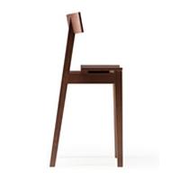 メーベルトーコー 国産 旭川家具 half chair ウォールナットNA ※開梱設置・代引きは別途見積 ※時間指定不可