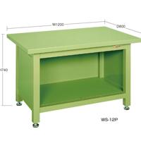 サカエSAKAE 超重量作業台(Wタイプ) WS-12P/スチール天板 【代金引換対象外】【サカエの大型商品は車上渡しです/個人宅配送不可】