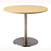天童木工 T-2709MP-NT テーブル メープル (ナチュラル) ステンレス
