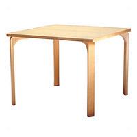 天童木工 T-2525MP-NT テーブル メープル/ホワイトビーチ (ナチュラル)