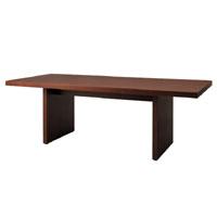 天童木工 T-6828WN-BW テーブル ウォールナット (BW色) 幅210cm