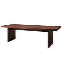 天童木工 T-6829WN-BW テーブル ウォールナット (BW色) 幅240cm
