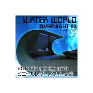 ドリームベッド ウォーターワールド オーバーナイトゼロ BODYTONE EX 1575 張地:P(ビニールレザー) クイーン1サイズ(2バッグ)