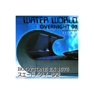 ドリームベッド ウォーターワールド オーバーナイトゼロ BODYTONE EX 1575 張地:S(スエード) クイーン1サイズ(2バッグ)