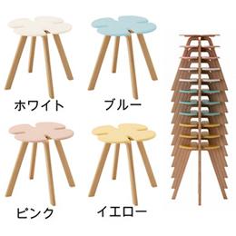 天童木工 クローバースツール<子どもサイズ> T-3219MD