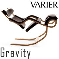 【入荷待ち】ヴァリエール グラビティ バランスチェア 座面:ブラック/木部:ナチュラル バリエール グラヴィティ ストッケ VARIER Gravity Balance Chair STOKKE【代金引換対象外】