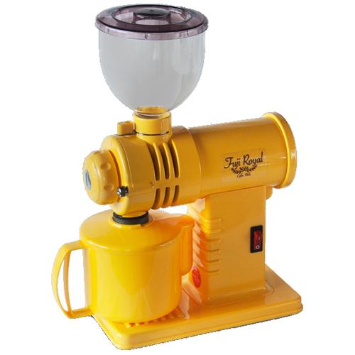 【送料無料(代引除く)】フジローヤル 富士珈機 コーヒーミル みるっこ R-220(スタンダードタイプ) 黄