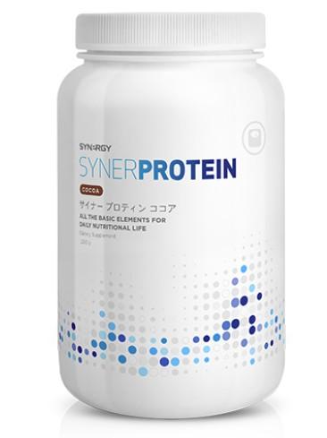 サイナープロティン 大豆タンパク加工商品 アミノ酸スコア100 ココア シナジーワールドワイド ■栄養補助食品