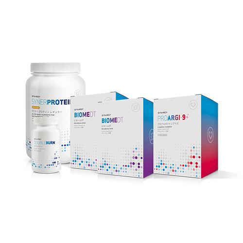 ウェイトマネジメントキット(チャリティ)Second Step Target Health ■マイクロビオームキットの1週間プログラム終了後、なりたい自分に合わせてオプションからチョイス Option3 Weight Management シナジーワールドワイド