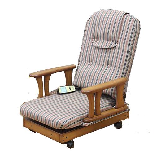 中居木工 天然木 電動座椅子 日本製 NK-2246【送料無料(北海道・沖縄・離島除く)】【代引不可】