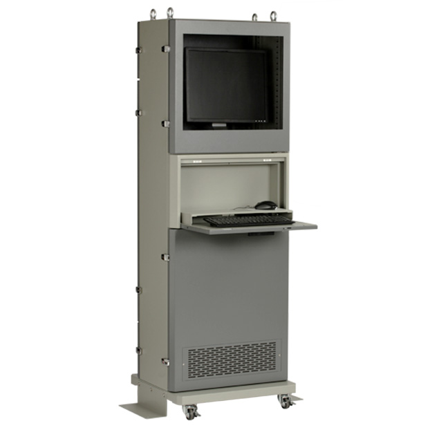 SDS エスディエス まもる君 Slim クーラータイプ S10C-01 パソコン収納用防塵ラック スリム 薄型【代引き不可】【車上渡し】【個人宅配送不可】【組立完成品】