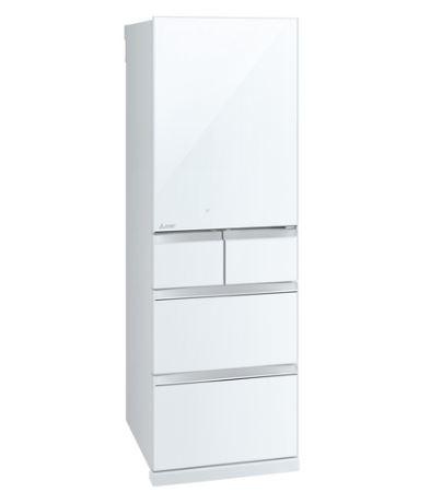 [設置無料]三菱電機 MITSUBISHI ELECTRIC 冷蔵庫 MR-B46E-W クリスタルピュアホワイト 455L 高さ182cm ※代引不可