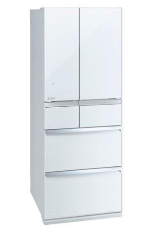 [設置無料]三菱電機 MITSUBISHI ELECTRIC 冷蔵庫 スマート大容量WXシリーズ MR-WX47LF-W クリスタルホワイト 470L 高さ1,696mm