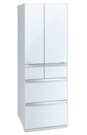 [設置無料]三菱電機 MITSUBISHI ELECTRIC 冷蔵庫 スマート大容量WXシリーズ MR-WX47F-W クリスタルホワイト 470L 高さ1,821mm