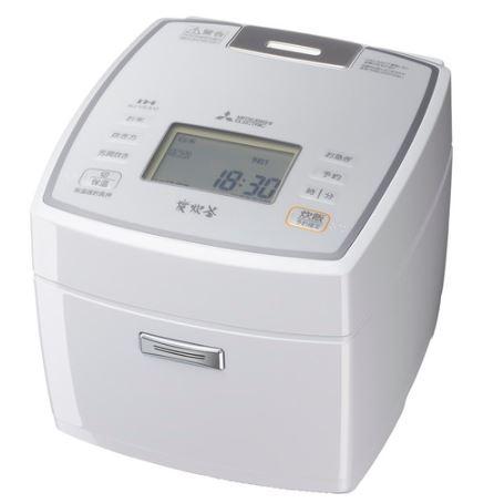 三菱電機 Mitsubishi Electric 炊飯器 NJ-VEA10 1~5.5合 ピュアホワイト