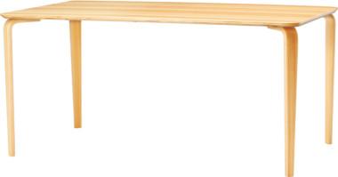 天童木工 日本未発売 5%OFF F-2739SG-NT 代金引換対象外 スギ圧密材 ナチュラル テーブル