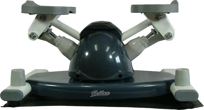 下半身用運動器具 ラウンドステッパー フィットネス エクササイズ ダイエット 福発メタル BX-011 家庭用