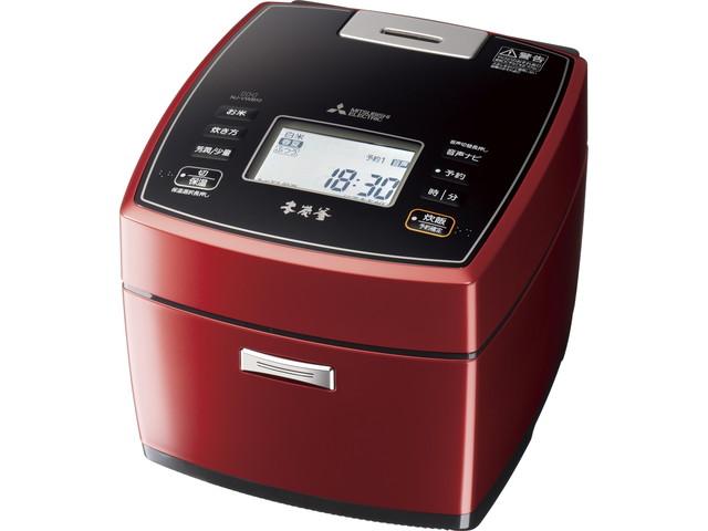 【送料無料】三菱電機 Mitsubishi Electric 炊飯器 本炭釜 NJ-VWB10 0.5~5.5合 赤紅玉