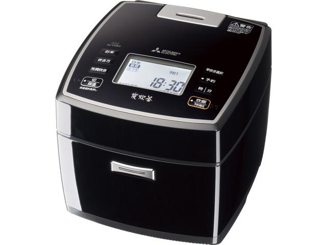 【送料無料】三菱電機 Mitsubishi Electric 炊飯器 炭炊釜 NJ-VXB10 0.5~5.5合 黒曜