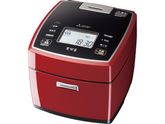 【送料無料】三菱電機 Mitsubishi Electric 炊飯器 炭炊釜 NJ-VXB10 0.5~5.5合 真紅
