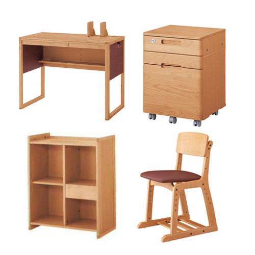 Okamura Learning Desk In Sorano Solano Chairs Set