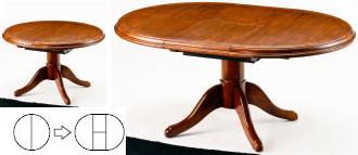 Brugge ブルージュ 伸長式ダイニングテーブル VE300 三越伊勢丹プロパティ・デザイン