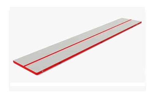 フィットネスエアーマット (サイズ:150×900×10cm) CH15901 フットポンプ付 中旺ヘルス 【代引き不可】