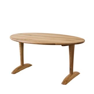 飛騨産業 森のことばibukiシリーズ テーブル(W150)FF372WP キツツキマーク 【代引対象外】