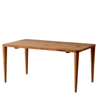 飛騨産業 森のことばCURVAシリーズ テーブル(W150)FR344WP キツツキマーク 【代引対象外】