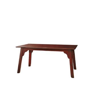 飛騨産業 北海道民芸家具シリーズ テーブル(W136) HM333WP キツツキマーク【代引対象外】