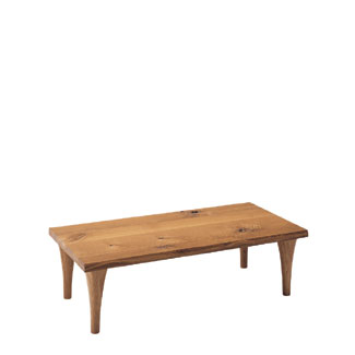 飛騨産業 森のことばシリーズ 長方形リビングテーブル SN107T キツツキマーク