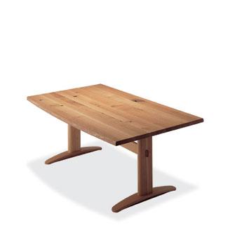 飛騨産業 森のことばシリーズ LDテーブル(W180)SN385WP キツツキマーク 【代引対象外】