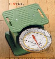 富士計器製造 盤面水平体重秤 R型60kg