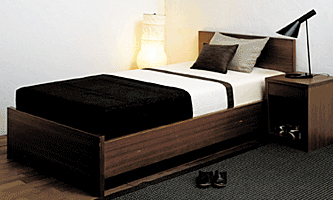 Bed-1 160×200(クイーン) Floorbedタイプ 15cmコンビマットレス付