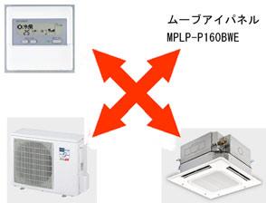 業務用・ビル用空調 三菱電機・店舗・事務所用エアコン Wリプレースインバーター(冷暖兼用) MPLZ-WRP112BEL