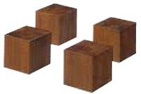 【送料無料!】 【代引きは手数料+送料が必要です】 朝日木材加工 ADK オーディオベース 【SD】 ブロック(4個1組) SD-BA2N